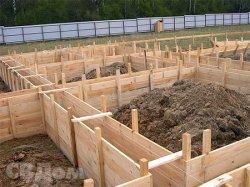 Фундаменты при строительстве коттеджа